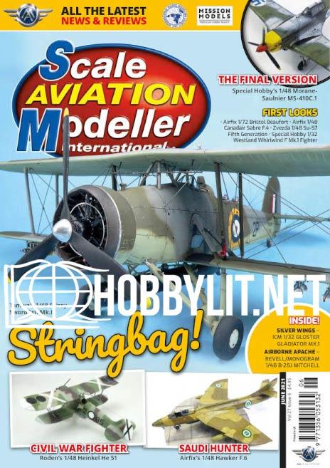 Scale Aviation Modeller International - June 2021 ( Vol.27 iss.6)
