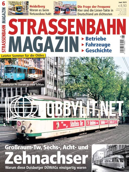 Straßenbahn Magazin – Juni 2021