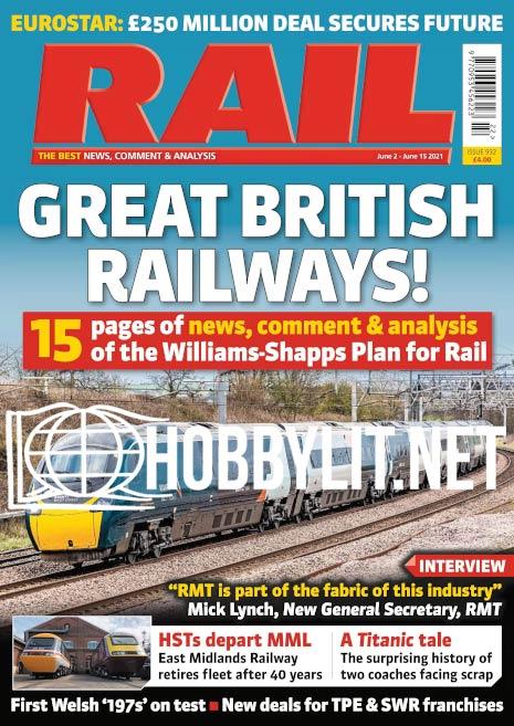 Rail – 2-15 June 2021