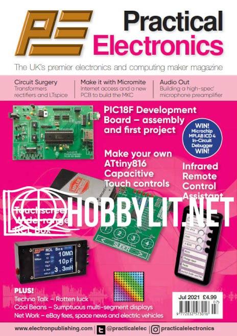 Practical Electronics - July 2021 (Vol.50 No.7)