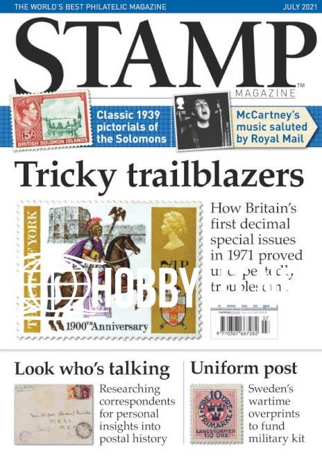 Stamp Magazine - July 2021 (Vol.87 No.6)