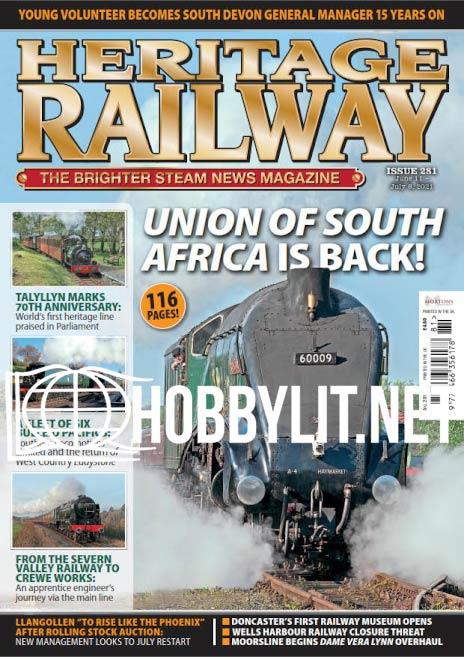 Heritage Railway June 11-July 8, 2021 (Iss.281)
