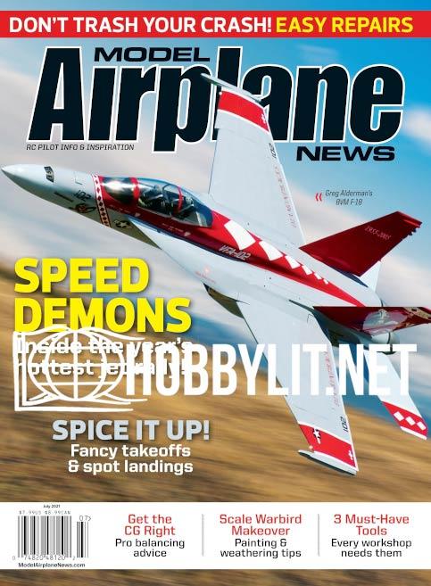 Model Airplane news - July 2021 (Vol.150 No.7)