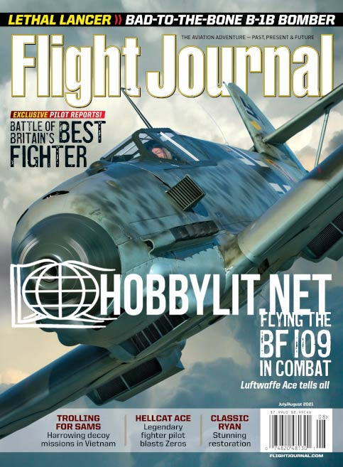 Flight Journal – July/August 2021