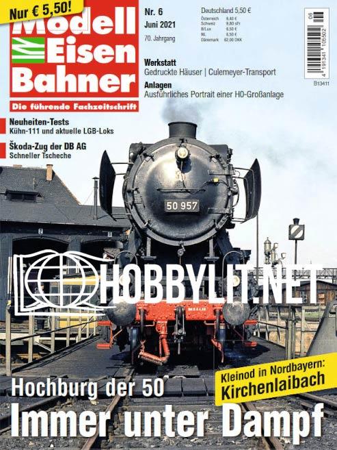 Modeleisenbahner - Juni 2021