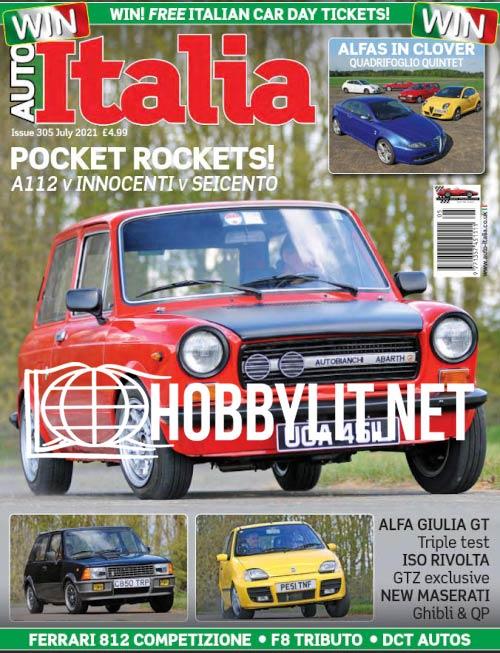 AutoItalia  - July 2021 ( Iss. 305)