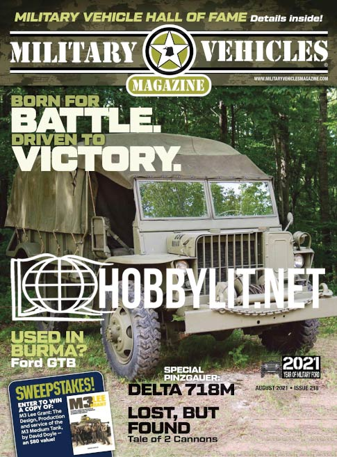 Military Vehicles Magazine - August 2021 (Iss.218)
