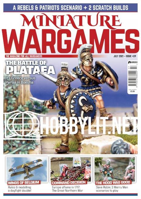 Miniature Wargames – July 2021 (Iss. 459)