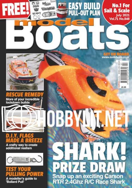 Model Boats - July 2021 (No.848)