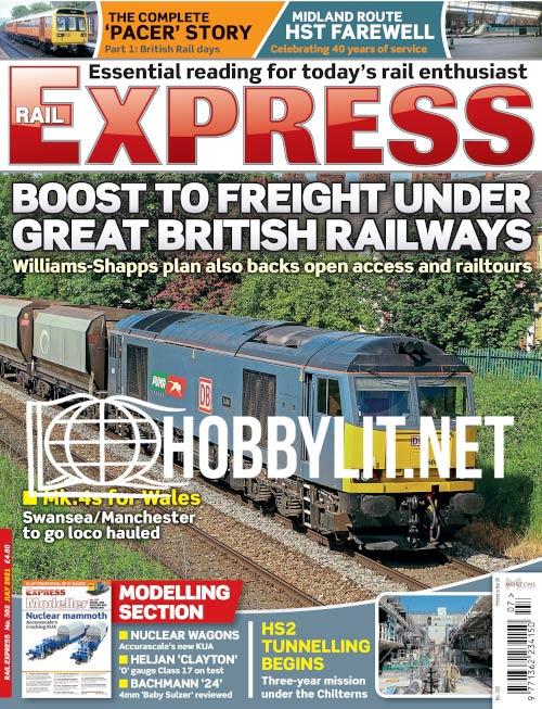 Rail Express - July 2021 (Iss.302)