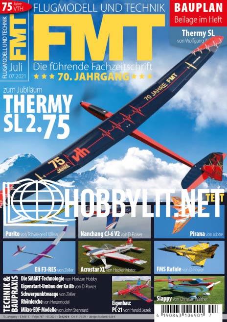Flugmodell und Technik - Juli 2021