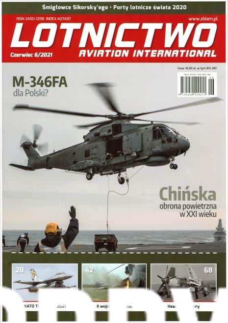 Lotnictwo Aviation International 2021-06