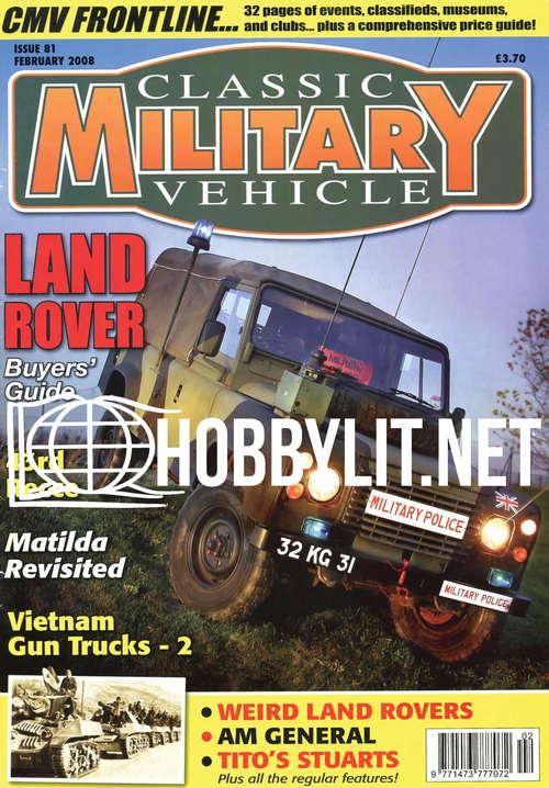 Classic Military Vehicle - February 2008