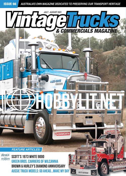 Vintage Trucks & Commercials - July-August 2021