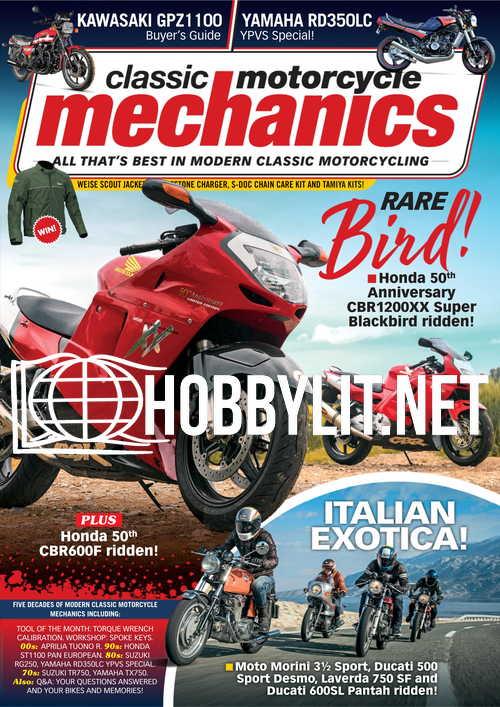 Classic Motorcycle Mechanics - August 2021