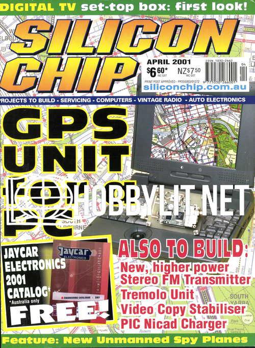 Silicon Chip - April 2001