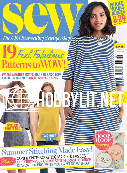 Sew Magazine - August 2021