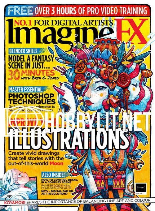 ImagineFX Issue 203