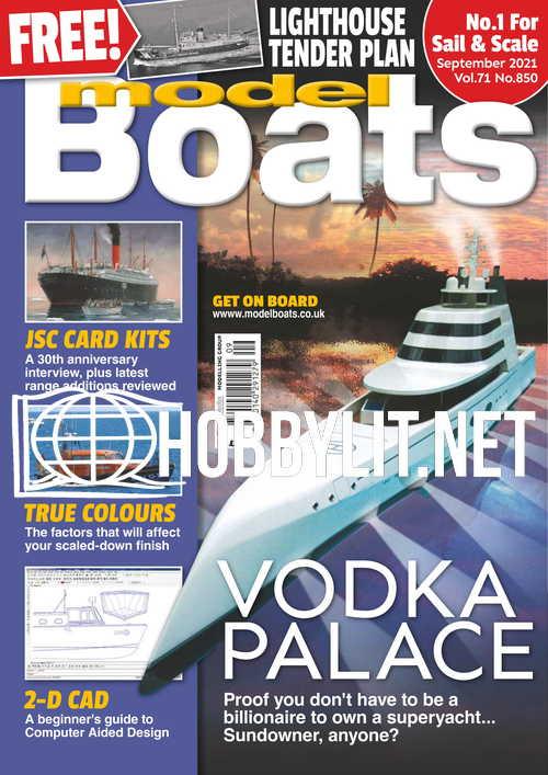 Model Boats - September 2021