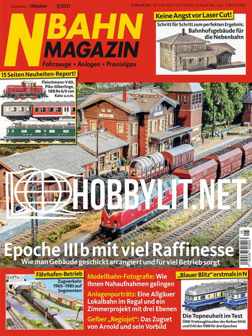 N-Bahn Magazin – September/Oktober 2021