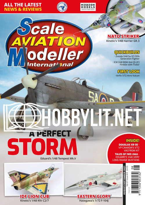Scale Aviation Modeller International - August/September 2021