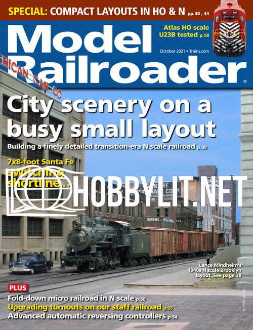Model Railroader - October 2021