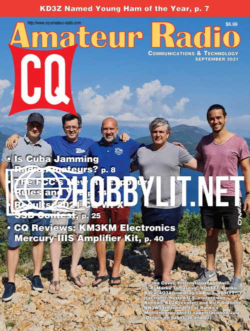 CQ Amateur Radio - September 2021