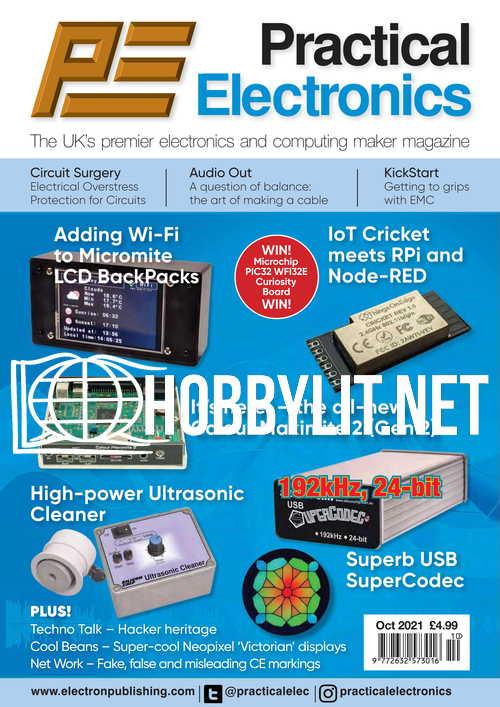 Practical Electronics - October 2021