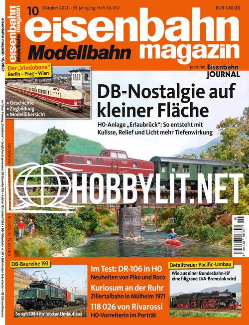 Eisenbahn Magazin – Oktober 2021