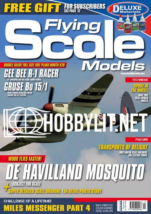 Flying Scale Models - October 2021