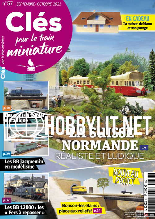 Clés Pour le Train Miniature - Septembre/Octobre 2021