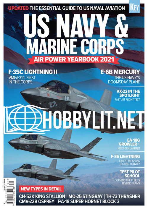 US Navy & Marine Corps Air Power Yearbook 2021