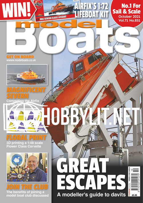 Model Boats - October 2021