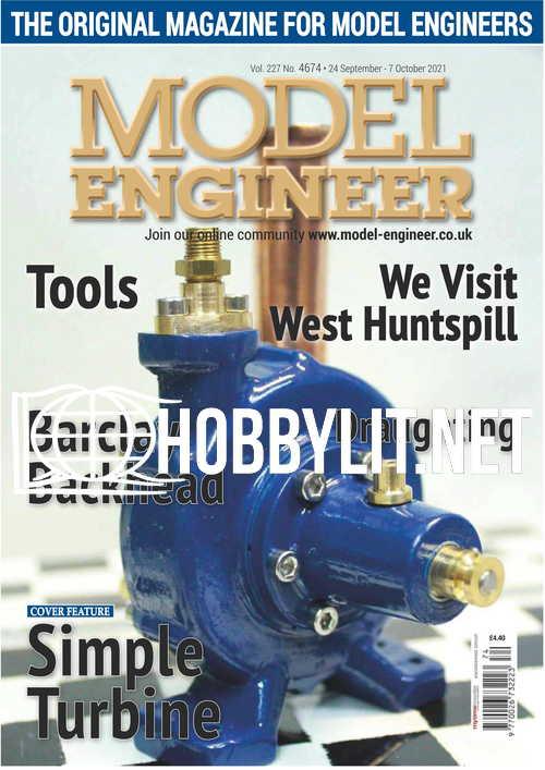 Model Engineer - 24 September 2021
