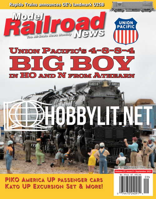 Model Railroad News - September 2021