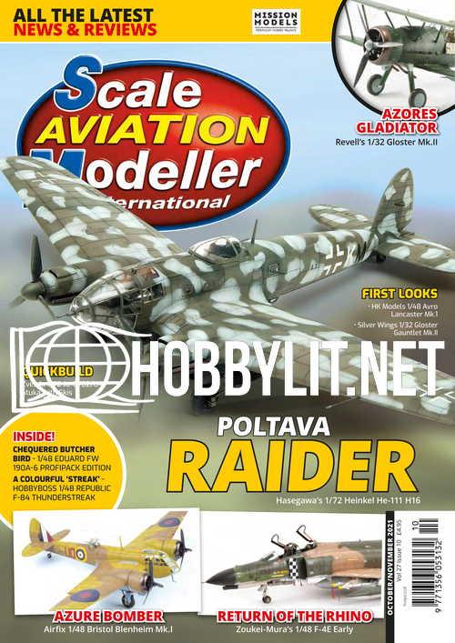 Scale Aviation Modeller International - October/November 2021