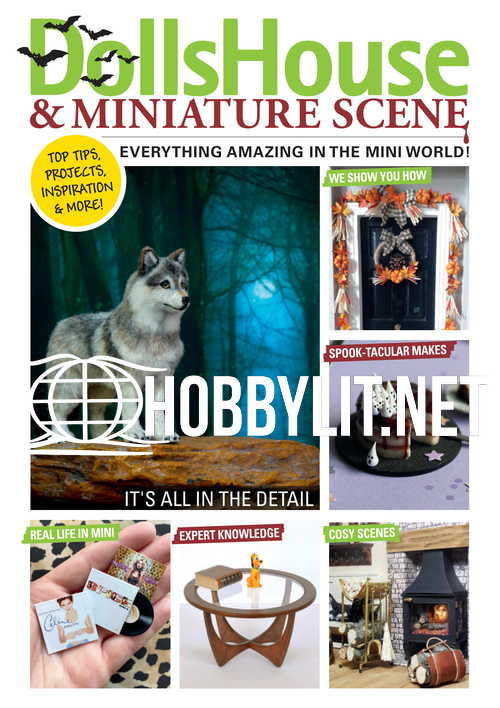 Dolls House & Miniature Scene - October 2021