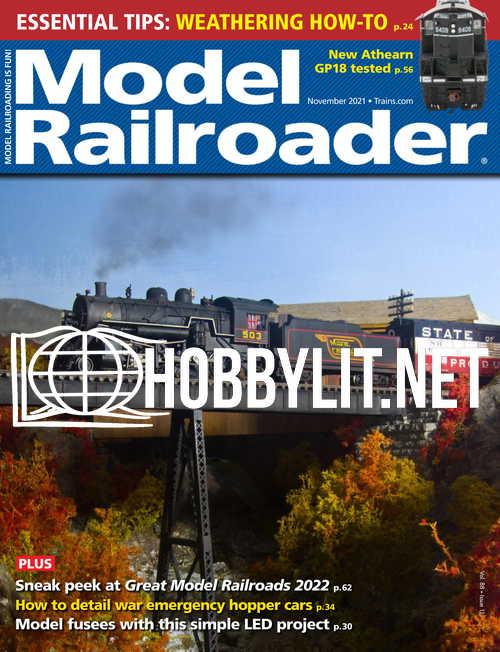 Model Railroader - November 2021