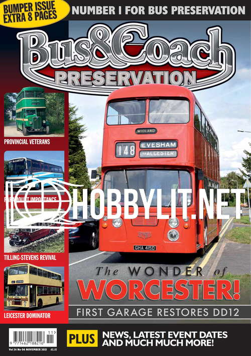 Bus & Coach Preservation - November 2021