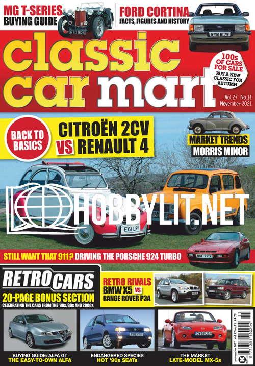 Classic Car Mart November 2021