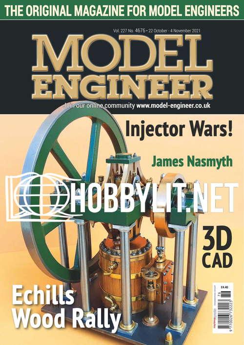 Model Engineer - 22 October 2021