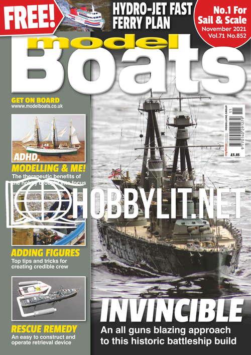 Model Boats - November 2021