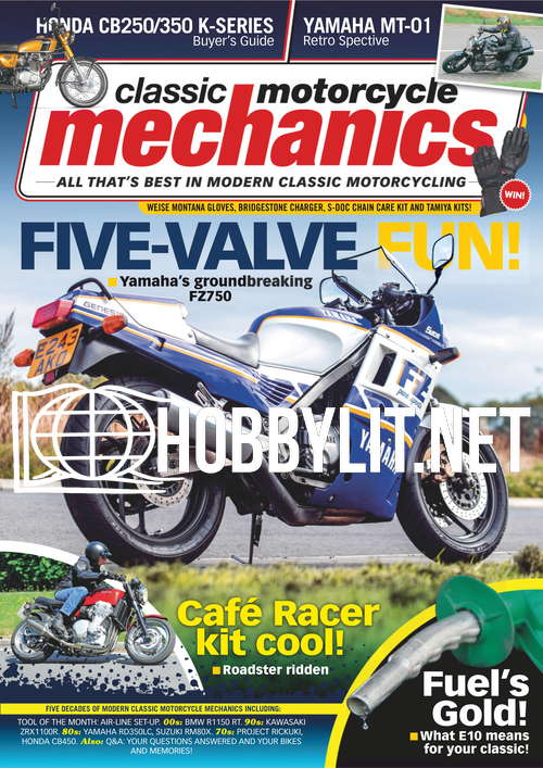Classic Motorcycle Mechanics - November 2021