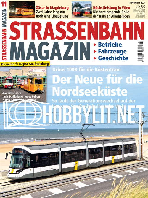 Strassenbahn Magazin – November 2021
