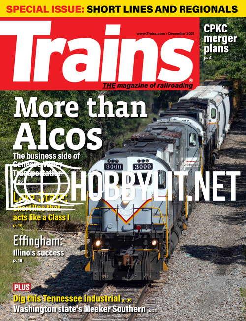 Trains - December 2021