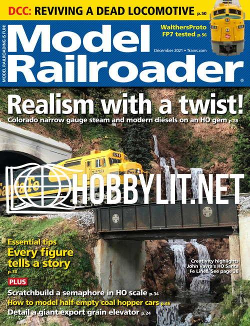 Model Railroader - December 2021